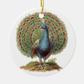 Vintage Peacock...ornament Christmas Ornament