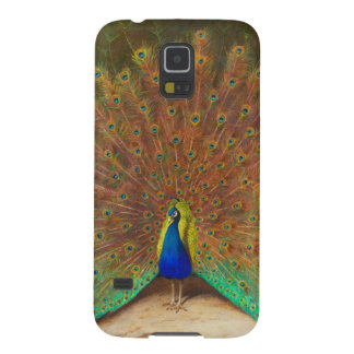 Vintage Peacock Painting Galaxy S5 Case