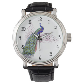Vintage Peacock Watch
