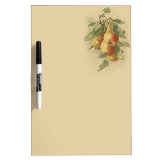 Vintage pears Dry-Erase board