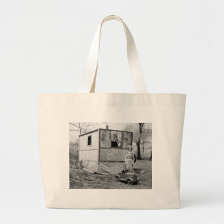 Vintage Pedal Car in the Great Depression, 1930s Jumbo Tote Bag