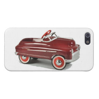 Vintage Pedal Cars Kids Childs Children s Toys iPhone 5 Covers