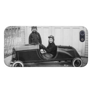 Vintage Pedal Cars Kids Childs Children s Toys iPhone 5 Cases