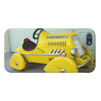 Vintage Pedal Cars Kids Childs Children s Toys Cover For iPhone 5