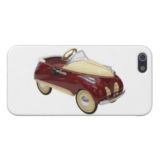Vintage Pedal Cars Kids Childs Children s Toys Case For iPhone 5/5S