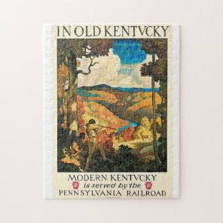 Vintage Pennsylvania RR, Kentucky   Travel Ad Jigsaw Puzzle