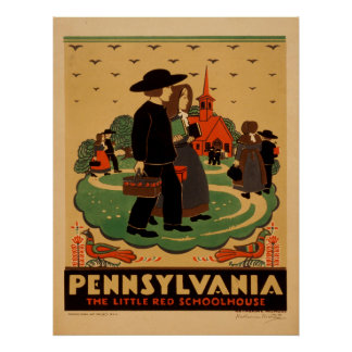 Vintage Pennsylvania Travel Posters