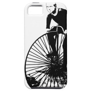 Vintage Penny Farthing Bicycle Illustration iPhone 5 Cases