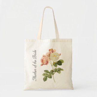 Vintage Peonies Mother of the Bride Tote Bag