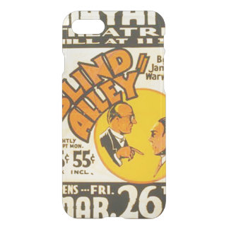 "Vintage Performing Arts ""Blind Alley"" WPA iPhone 7 Case"