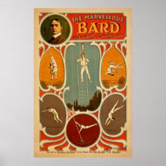Vintage Performing Arts Poster