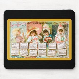 Vintage Perfume Trade Card Mousepad
