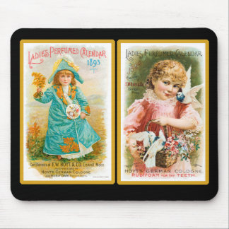 Vintage Perfume Trade Card Mousepad #2