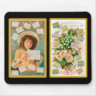Vintage Perfume Trade Card Mousepad #3