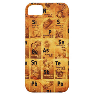 Vintage Periodic Table Case iPhone 5 Covers