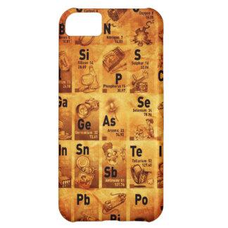 Vintage Periodic Table Case iPhone 5C Case