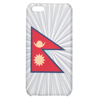 Vintage Pern Nepalese Flag Cover For iPhone 5C