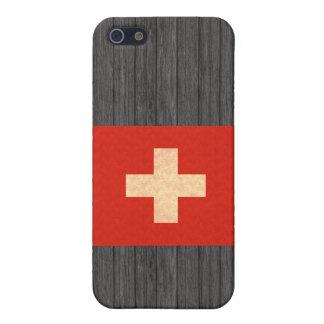 Vintage Pern Swiss Flag iPhone 5 Cover
