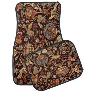 Vintage Persian Oriental Turkish Carpet Pattern Car Mat