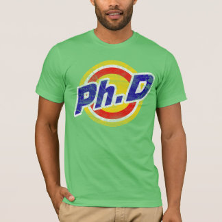 Vintage Ph.D or PhD or Doctor Of Philosophy T-Shirt