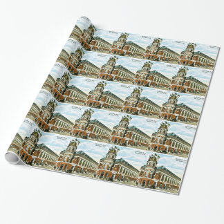 Vintage Philly Baseball Shibe Park Athletics Wrapping Paper