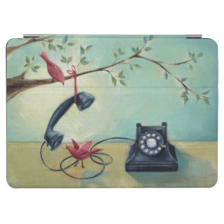 Vintage Phone & Birds iPad Air Cover