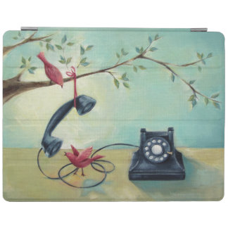 Vintage Phone & Birds iPad Smart Cover iPad Cover