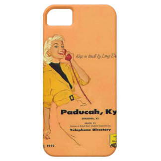Vintage Phone Book Cover iPhone Case
