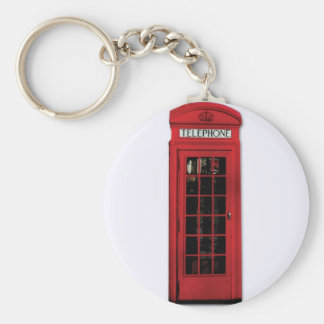 Vintage Phone Booth Key Chain