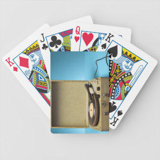 Vintage Phonograph Bicycle Playing Cards