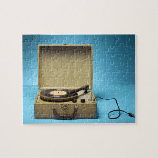 Vintage Phonograph Jigsaw Puzzle