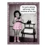Vintage Photo Custom Phone Call Away