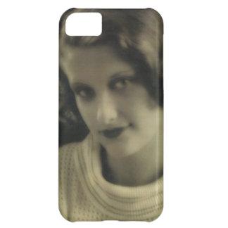 Vintage Photo Glamour Girl iPhone 5C Case