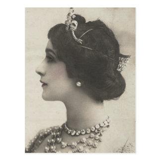 vintage photo Ladies Postcard