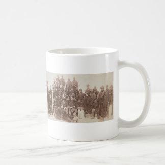 Vintage Photograph of Buffalo Soldiers 1890 Basic White Mug