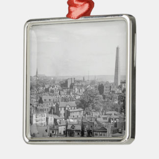 Vintage Photograph of Charlestown Massachusetts Christmas Ornament