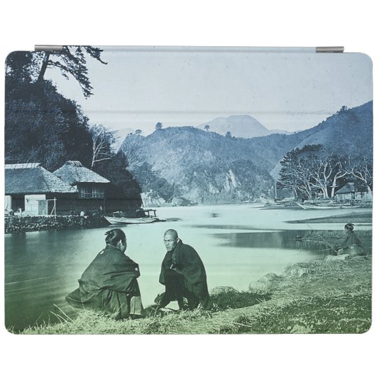 Vintage Photograph:  Rare Japanese Village iPad Smart Cover