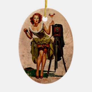Vintage Photographer Christmas Ornament