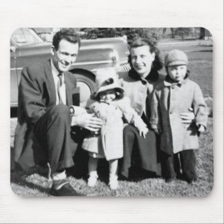 Vintage Photos Russell Family Mousepad