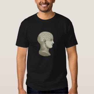 Vintage Phrenology Head Shirt