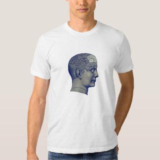Vintage Phrenology Head TShirt