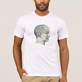 Vintage Phrenology Head TShirt Customisable