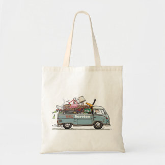 Vintage Pick Up Tote Bag