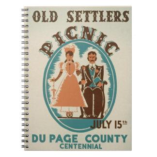 "Vintage ""Picnic"" Journal"