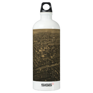 Vintage Pictorial Map of Billings Montana (1904) SIGG Traveller 1.0L Water Bottle