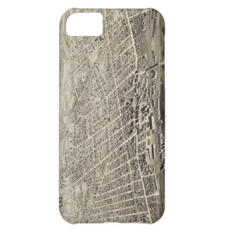 Vintage Pictorial Map of Concord NH 1875 iPhone 5C Cover