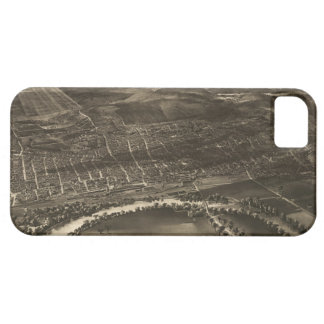 Vintage Pictorial Map of Concord NH 1899 iPhone 5 Cover