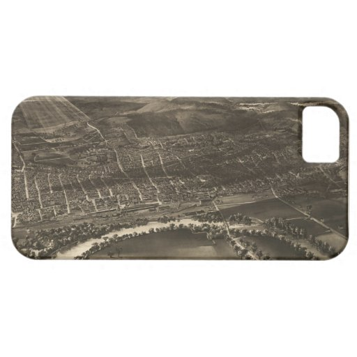 Vintage Pictorial Map of Concord NH (1899) iPhone 5 Cover