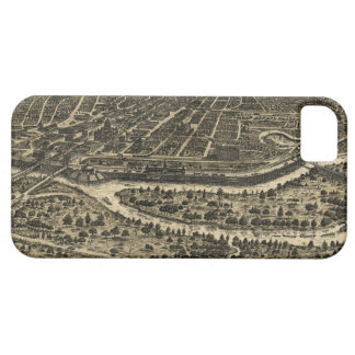 Vintage Pictorial Map of Dallas Texas 1892 iPhone 5/5S Case