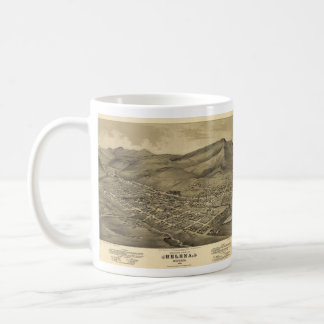Vintage Pictorial Map of Helena Montana (1875) Mugs